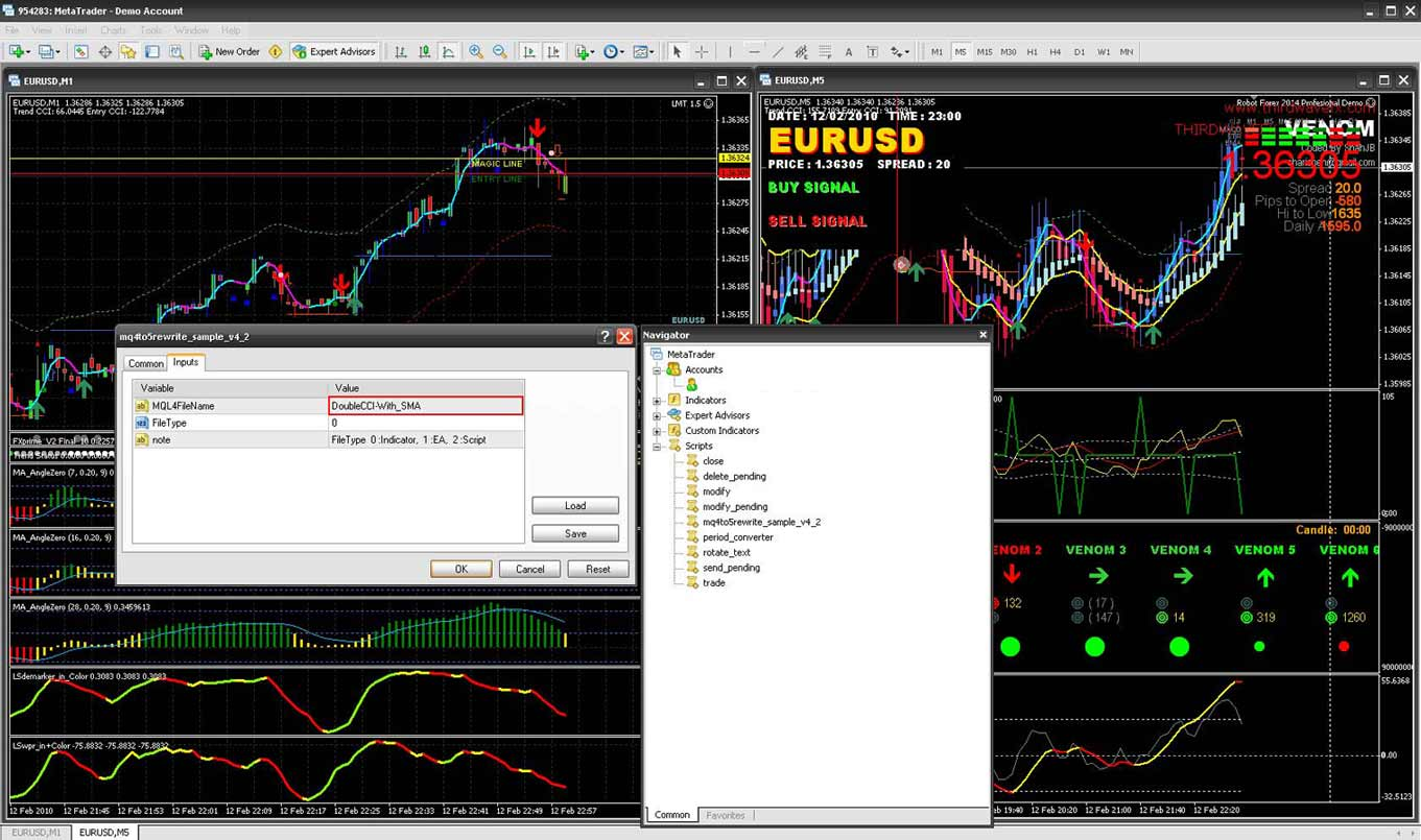Download forex robots for free for MetaTrader 5 in MQL5 Code Base