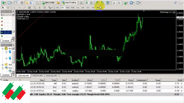 Forex hedging multiple pairs rate of return on average investment method of property